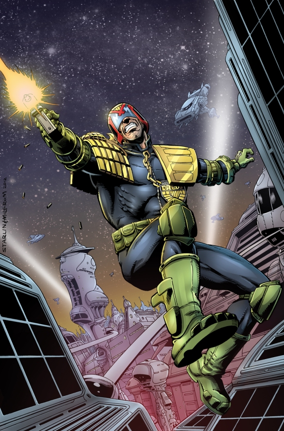 Judge Dredd-Jim Starlin Al Milgrom-cols